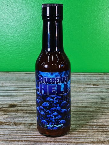 Hellfire Blueberry Hell Hot Sauce - 5 oz.