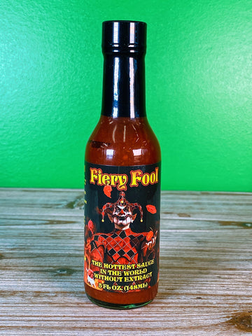 Hellfire Fiery Fool Hot Sauce - 5 oz.