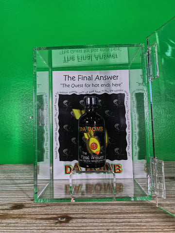 Da Bomb Final Answer Display Box w/Sauce