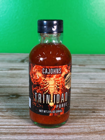 CaJohn's Trinidad Scorpion Puree - 2 oz.