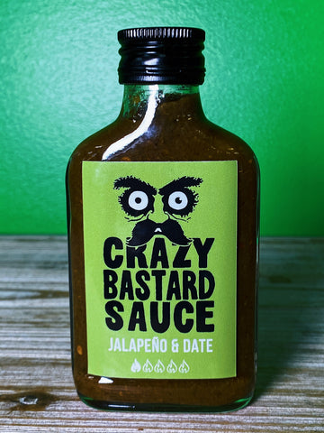 Crazy Bastard Sauce Jalapeno and Date