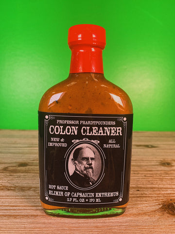 Professor Phardtpounders Colon Cleaner Hot Sauce - 5.7 Ounce