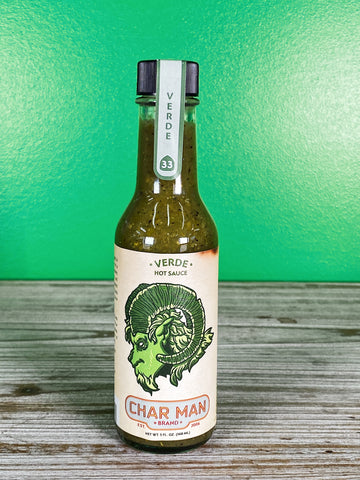 Char Man Verde Hot Sauce - 5 oz.