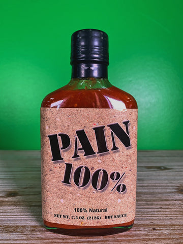 Pain 100% Hot Sauce - 7.5 oz.