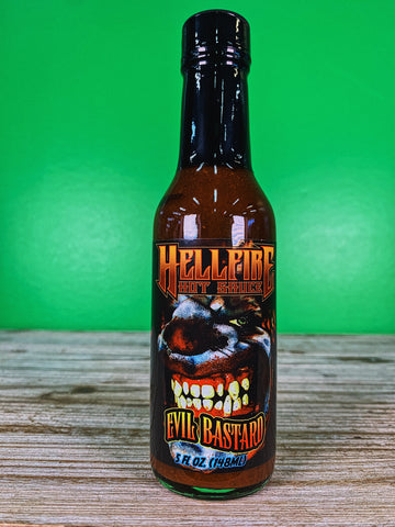 Hell Fire Evil Bastard Hot Sauce