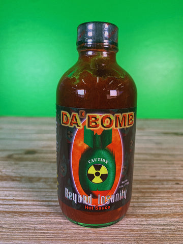 Da Bomb Beyond Insanity Hot Sauce - 4 oz.