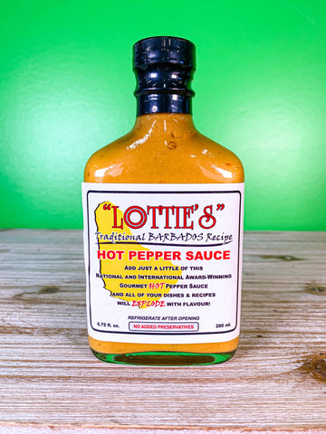 Lottie's Traditional Hot Pepper Sauce