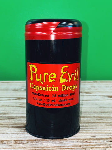 Pure Evil Capsaicin Drops (1.5 Million SHU) -1/2 oz