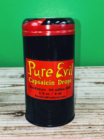 Pure Evil Capsaicin Drops (9.6 Million SHU) -1/4oz