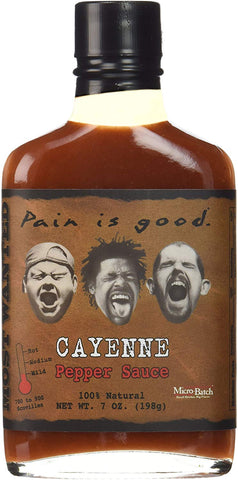 Pain is Good Cayenne Pepper Sauce - 7 oz.
