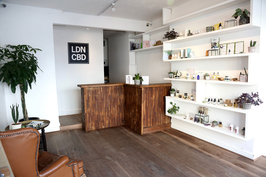 Our London CBD store