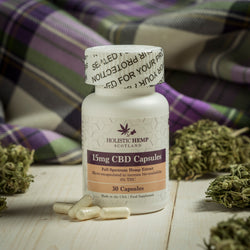 Holistic Hemp Scotland Full spectrum CBD Capsules