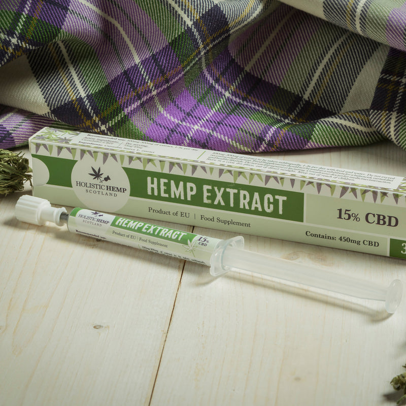 Holistic Hemp Scotland Full Spectrum Hemp Extract 15%