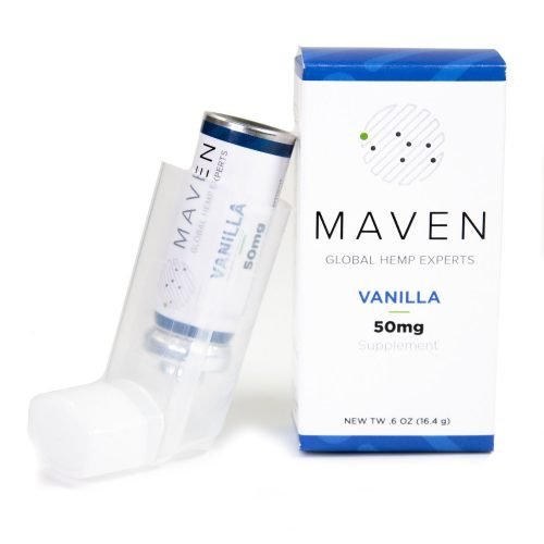 Maven 50mg CBD Inhaler – Vanilla Flavored