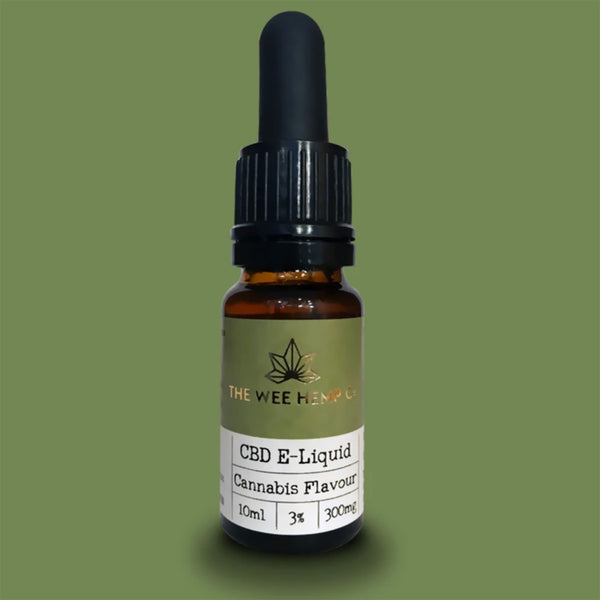 The Wee Hemp Company CBD E-Liquid - Cannabis Flavour