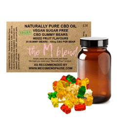 The M Blend Vegan & Sugar-Free CBD Gummy Bears