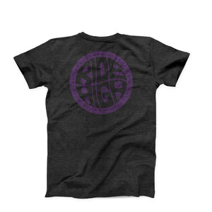 Ride High Tee - Heather Grey