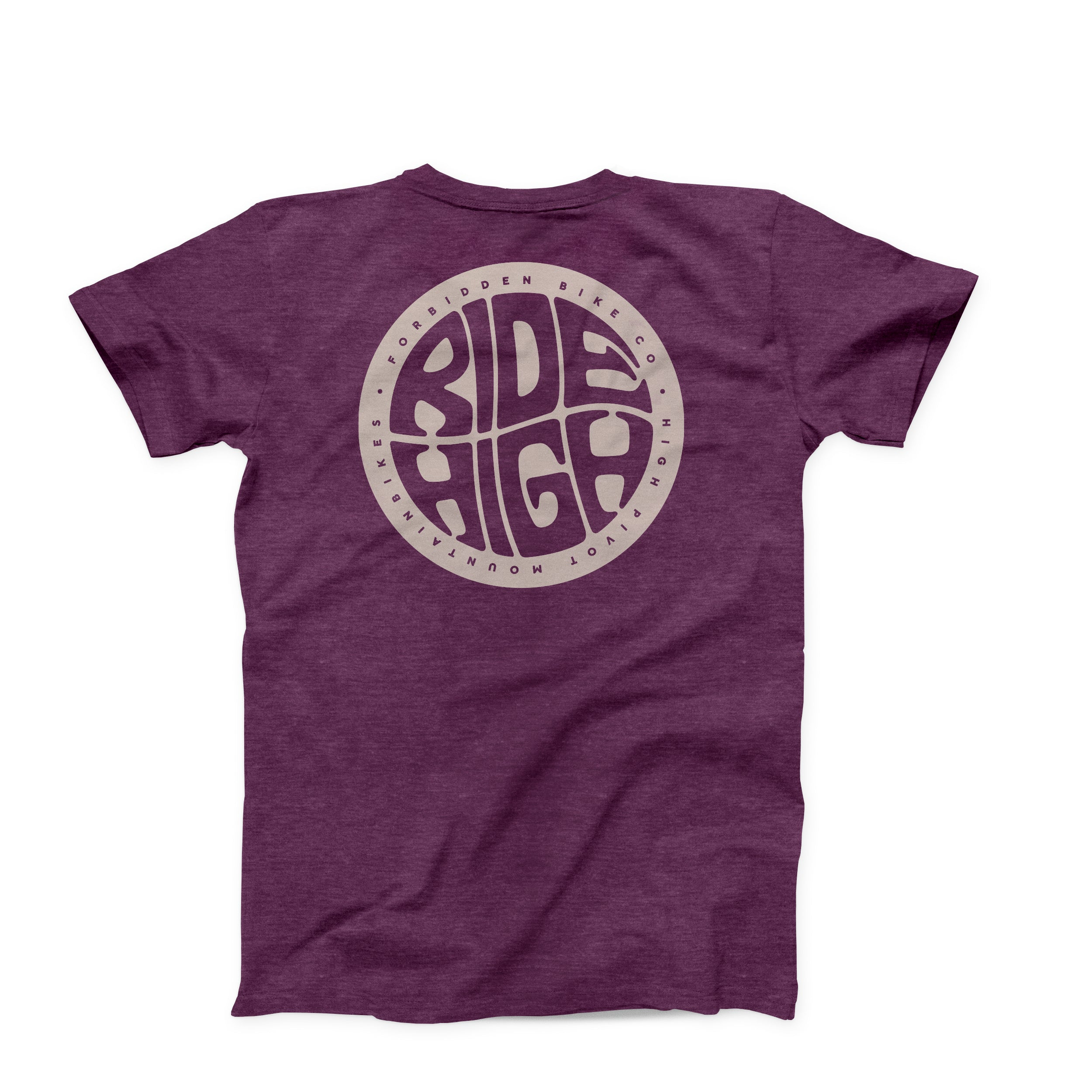 Ride High Tee - Plum