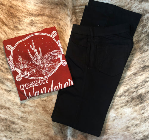 The Belle Ariat Black Trousers