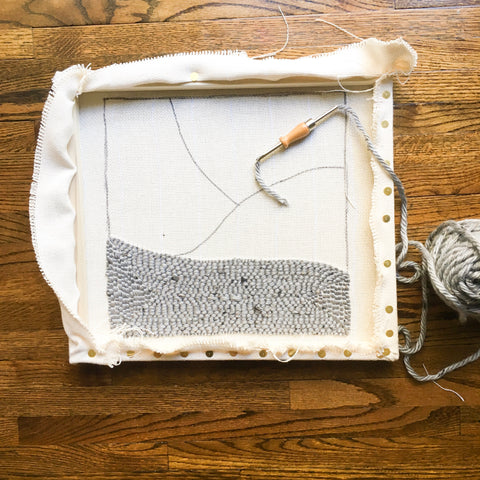 DIY Punch Needle Pillow – North Shore Crafts