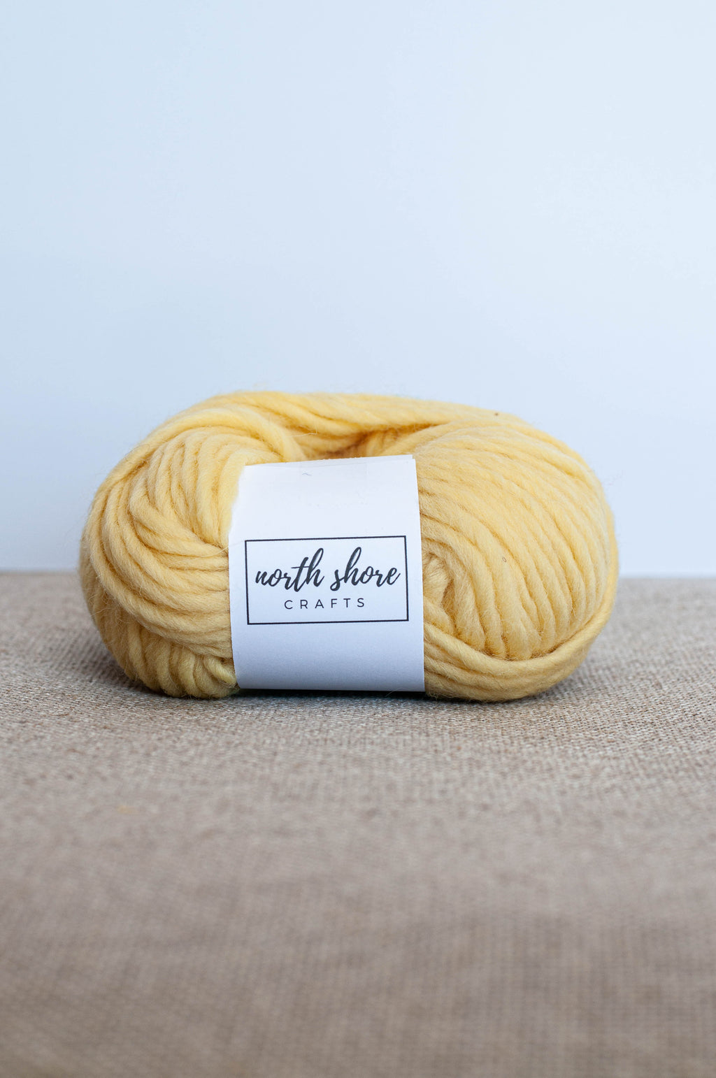 Punch Needle yarn Wool Yellow