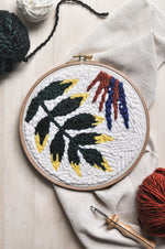 Birds of Paradise Punch Needle Pattern