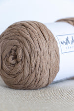 Mink cotton chunky yarn