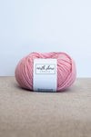 Superwash Wool Bulky Yarn Baby Pink