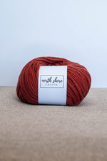 Superwash Wool Bulky Yarn Copper