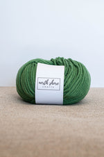 Superwash Wool Bulky Yarn Green