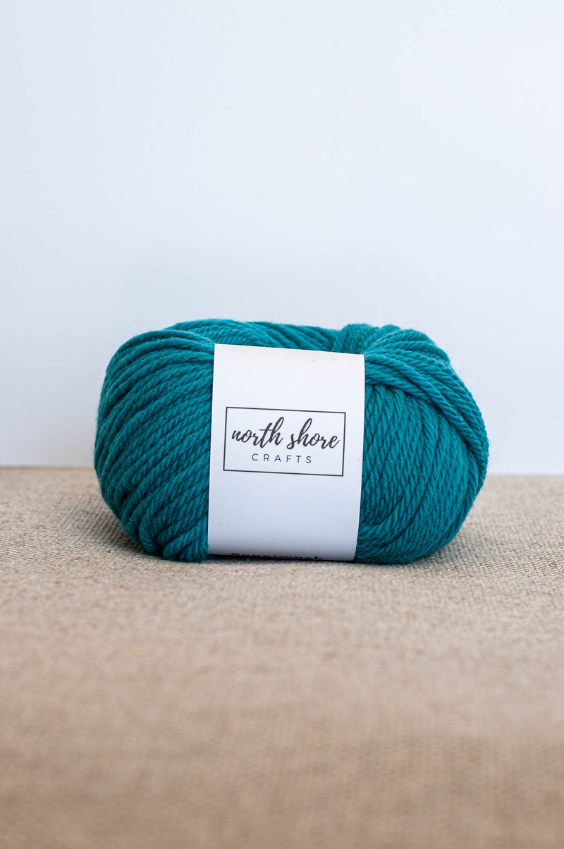 Superwash Wool Bulky Yarn Turquoise