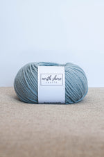 Superwash Wool Bulky Yarn Light Blue
