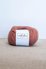 Superwash Wool Bulky Yarn Light Copper