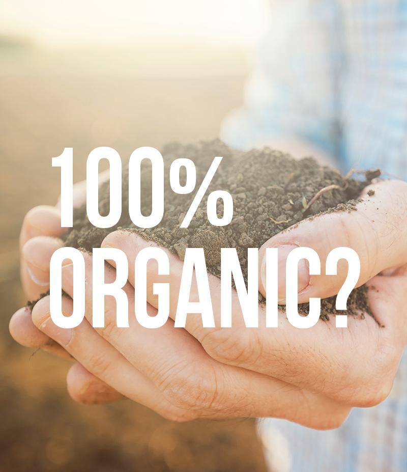 Do you know the difference between 100% Organic vs. Organic?