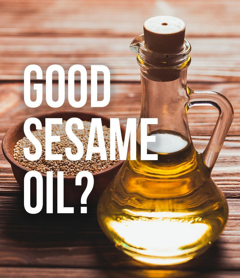 How can you tell it's the best quality sesame oil?