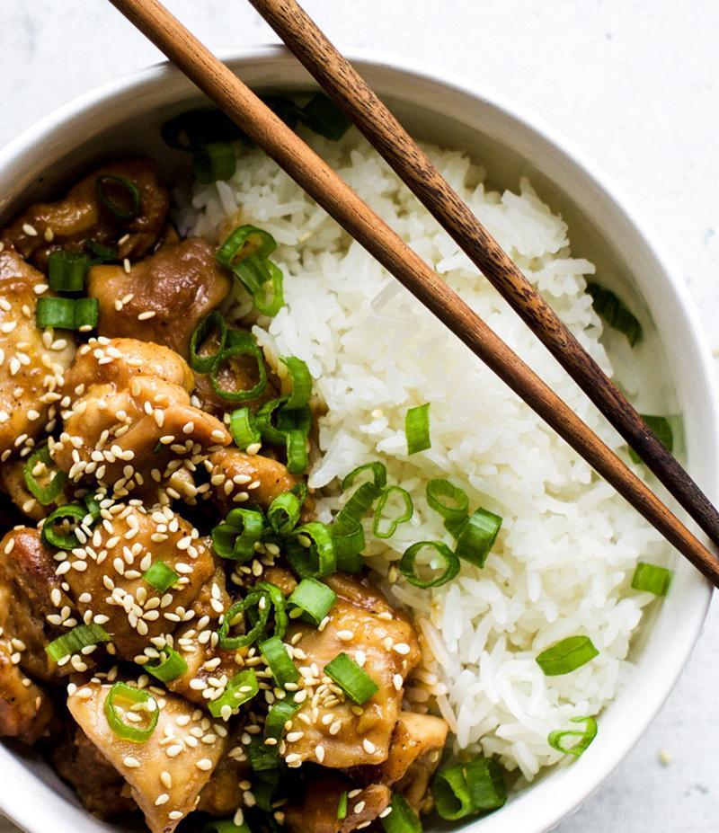Spicy Garlic Sesame Chicken