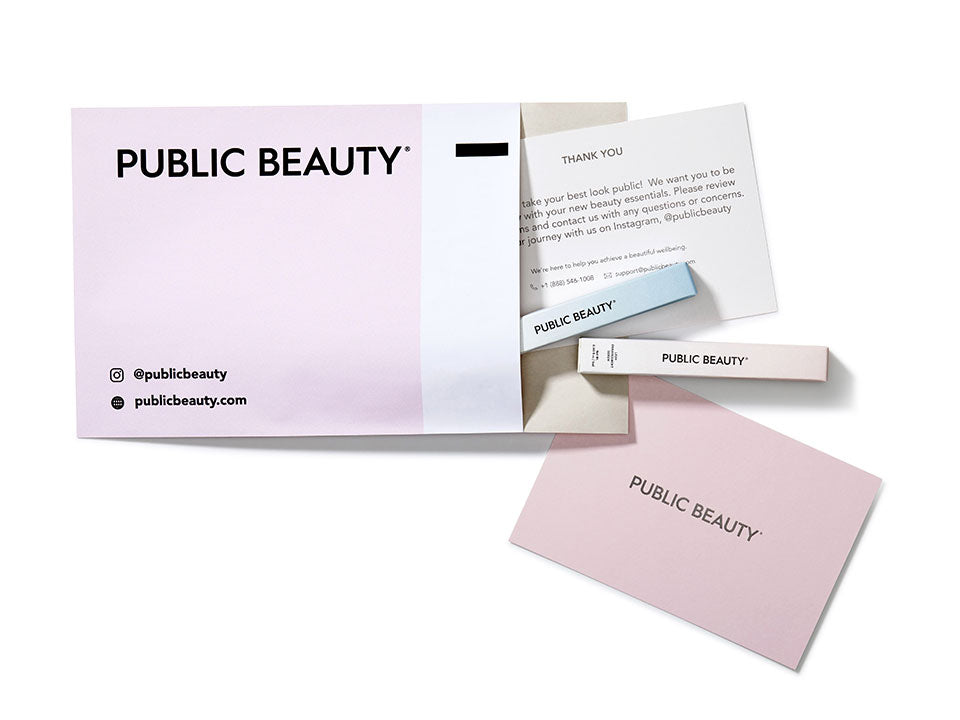 Public Beauty™ ships eyebrow serum and eyelash serum directly to your door at an affordable cost.