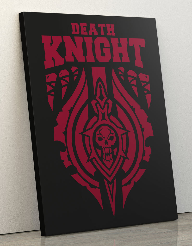 "Canvas Print 60x80cm ""Death Knight"""
