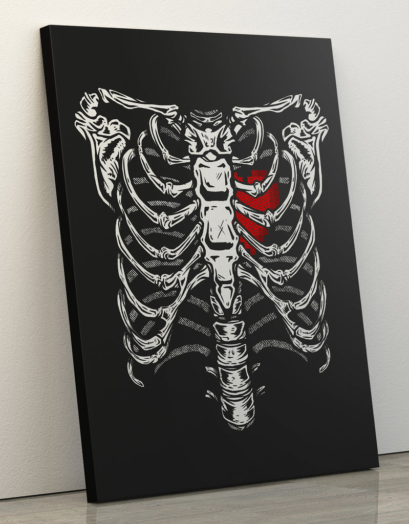 "Canvas Print 60x80cm ""Gamer Heart"""
