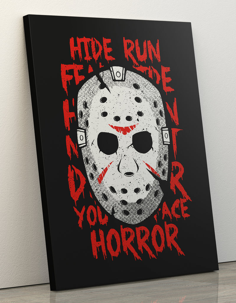 "Canvas Print 60x80cm ""Jason"""