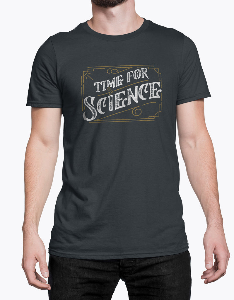 "GIXWEAR Men's T-Shirt ""Time For Science """