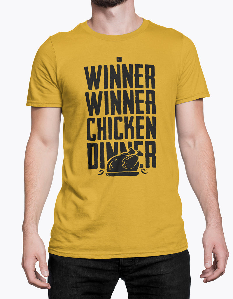 "GIXWEAR Men's T-Shirt ""Winner Winner Chicken Dinner"""