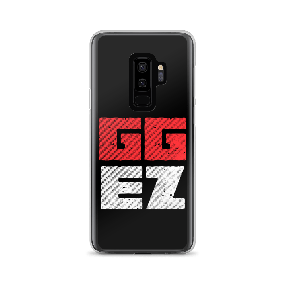 "Clear Gamer's Case ""GGEZ"" for Samsung Phones"