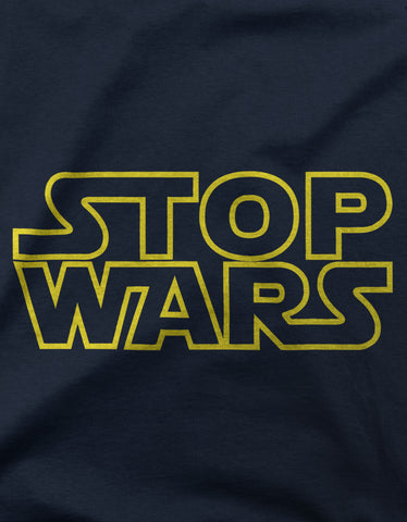 "GIXWEAR Men's T-Shirt ""Stop Wars"""