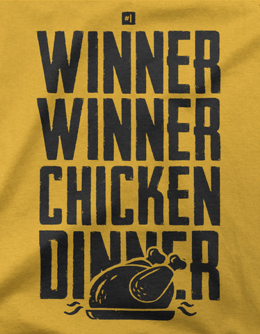 "GIXWEAR Women's T-Shirt ""Winner Winner Chicken Dinner"""