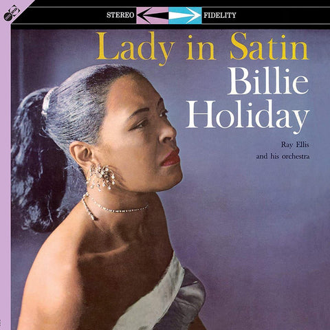 Billie Holiday - Lady In Satin [LP]