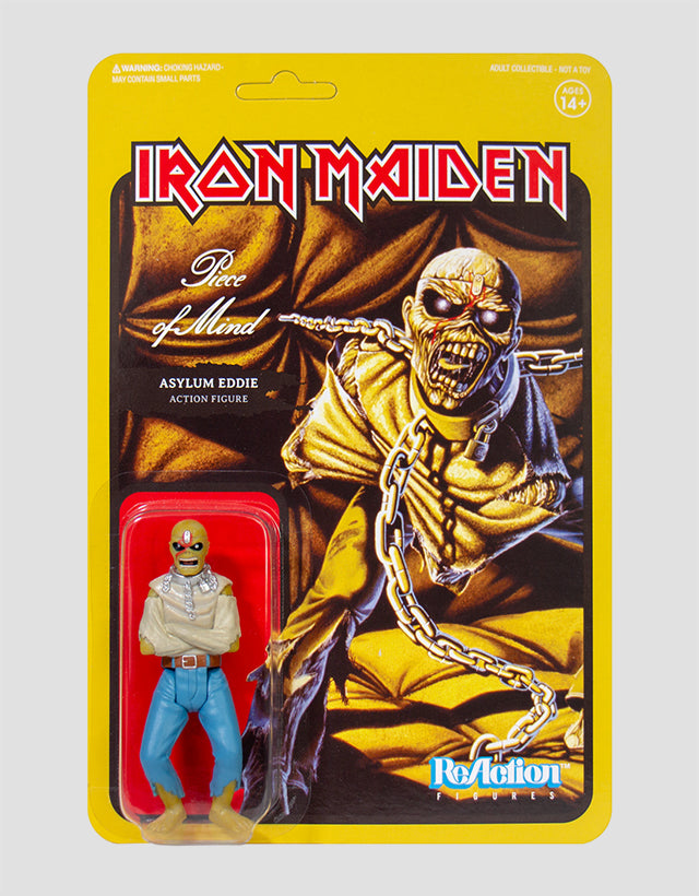 Super7 - Iron Maiden ReAction Figure - Piece Of Mind (Album Art)