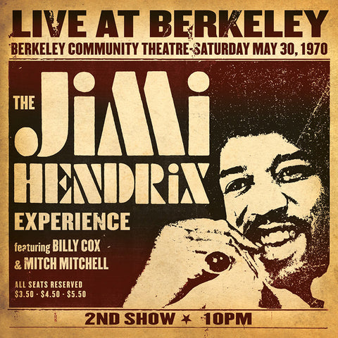 Jimi Hendrix - Live At Berkeley [2LP] (180G)