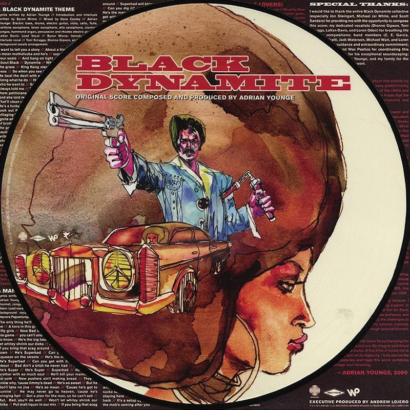 Adrian Younge - Black Dynamite [LP] (Picture Disc)