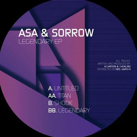 Asa & Sorrow - Legendary [12'' EP]